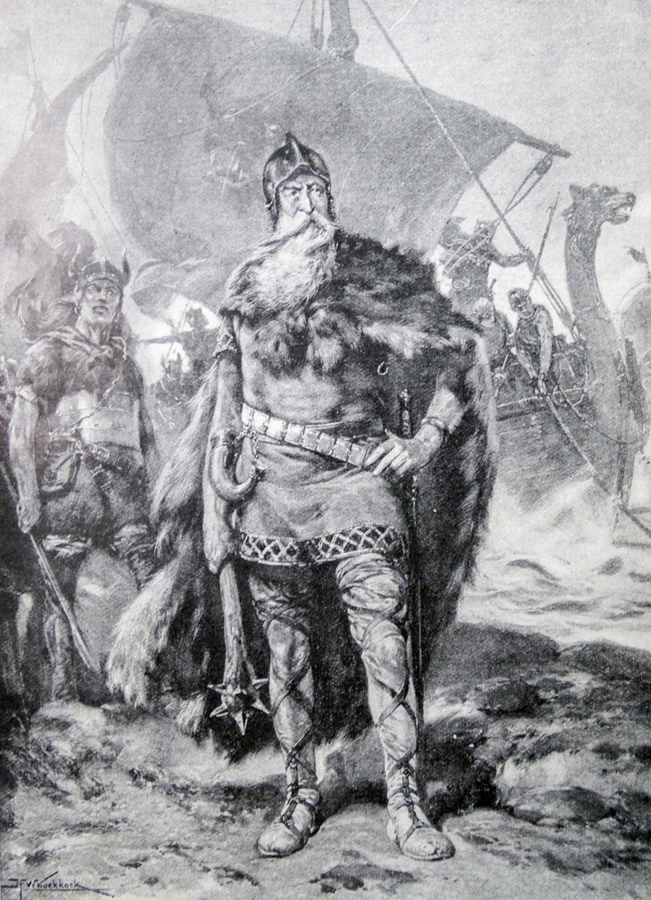 Rorik de Dorestad (que viveu por volta dos anos de 810 – 880).