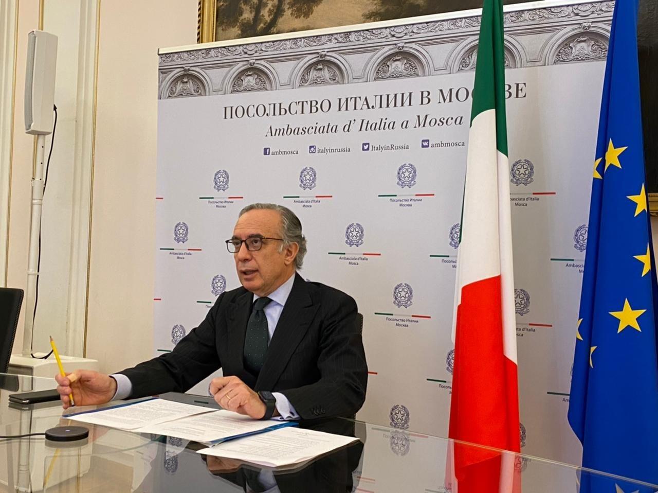 L'ambasciatore italiano in Russia Pasquale Terracciano