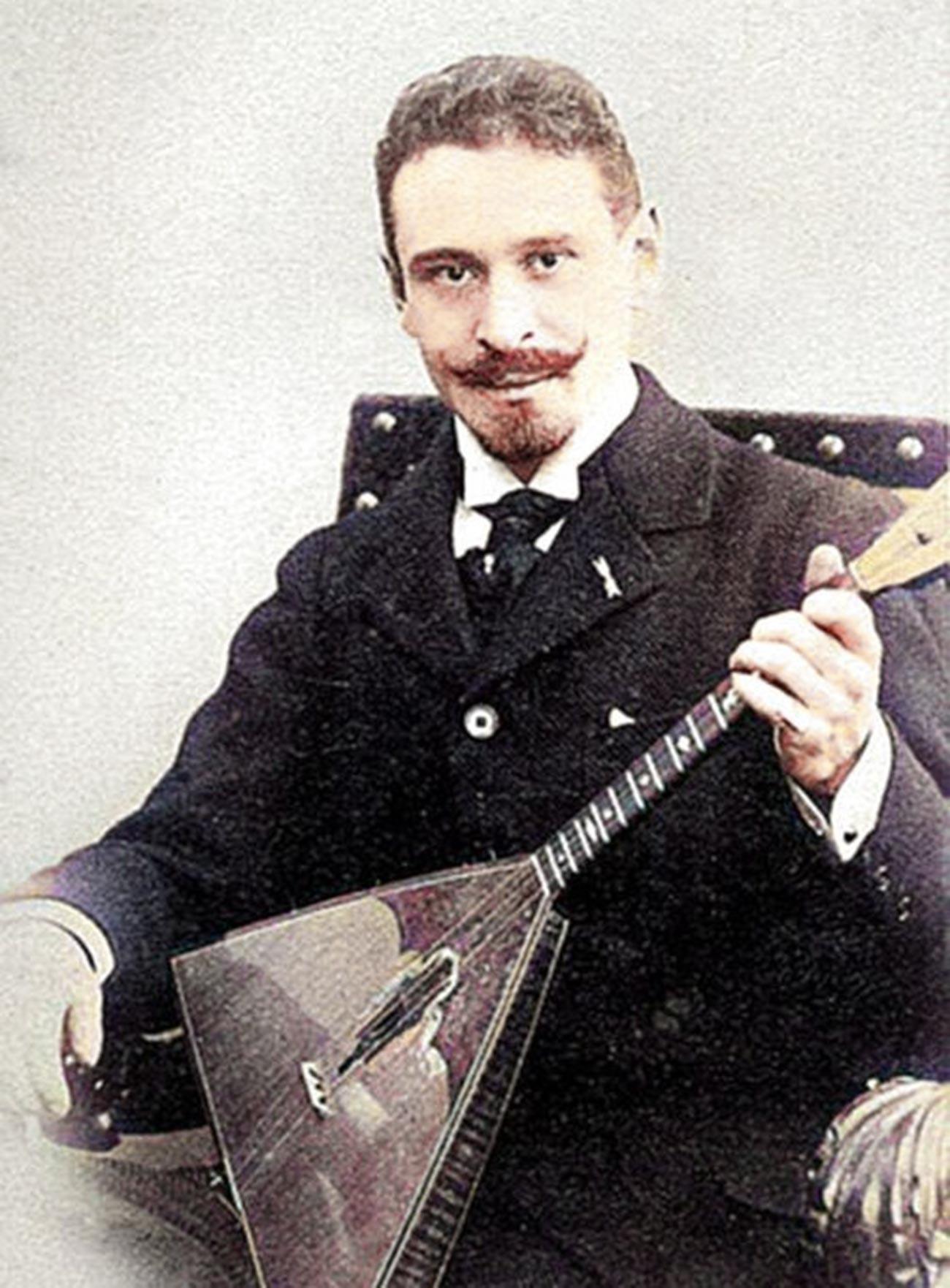 Il musicista russo Vasilij Andreev