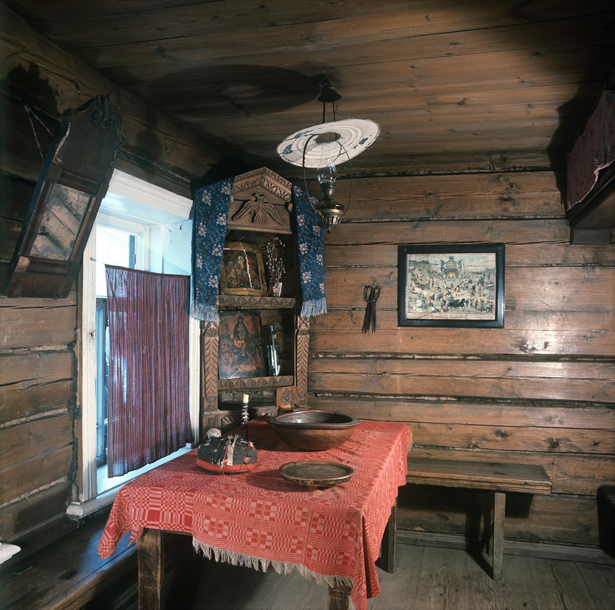 Gorkis Kindheit Museumshaus, die Küche.