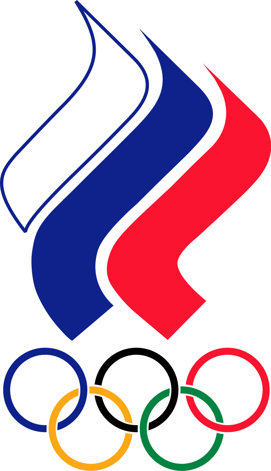 The emblem of the Russian Olympic Committee