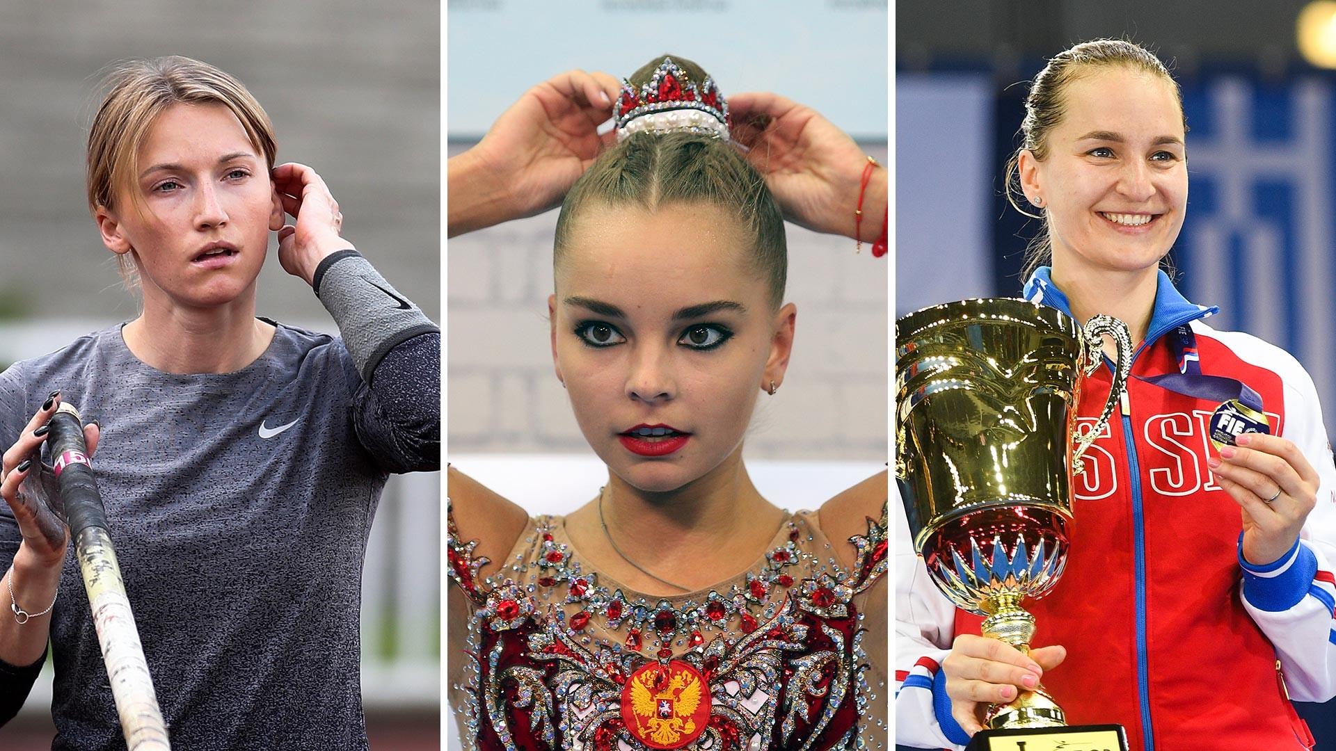 Angelika Sidorova, Arina Averina, Sofia Velikaya