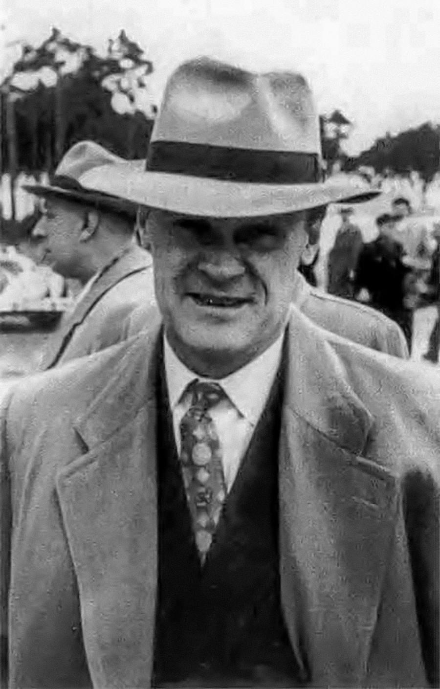 Александър Коротков в последната година от живота си - 1961