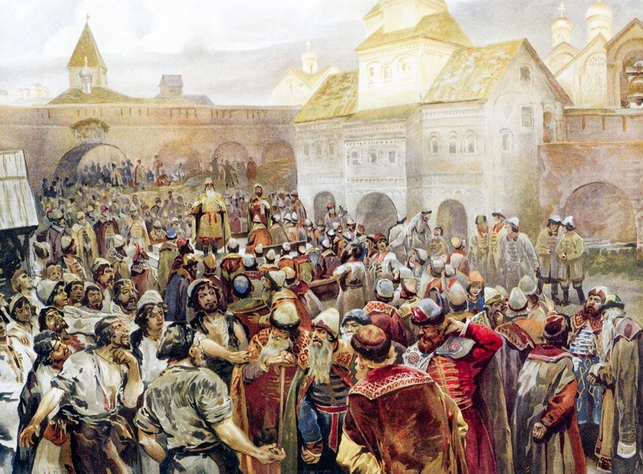 Le Viétché de Novgorod
