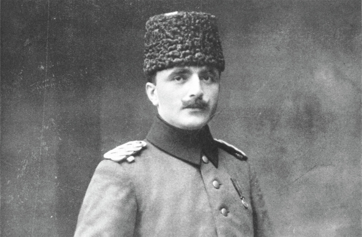One of the first of Korotkov's targets was Georgy Agabekov (pictured), a notorious Soviet spy who defected from the intelligence service.