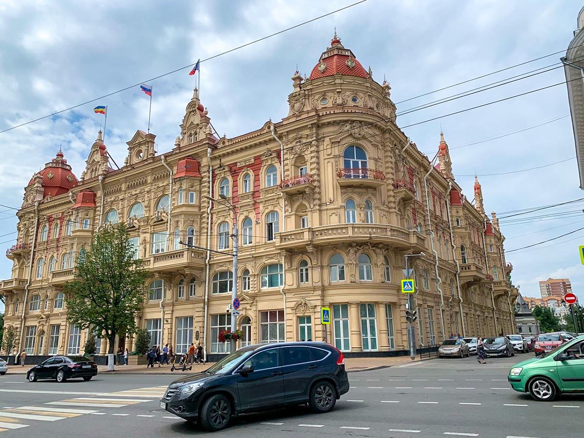 Das Rostower Rathaus.