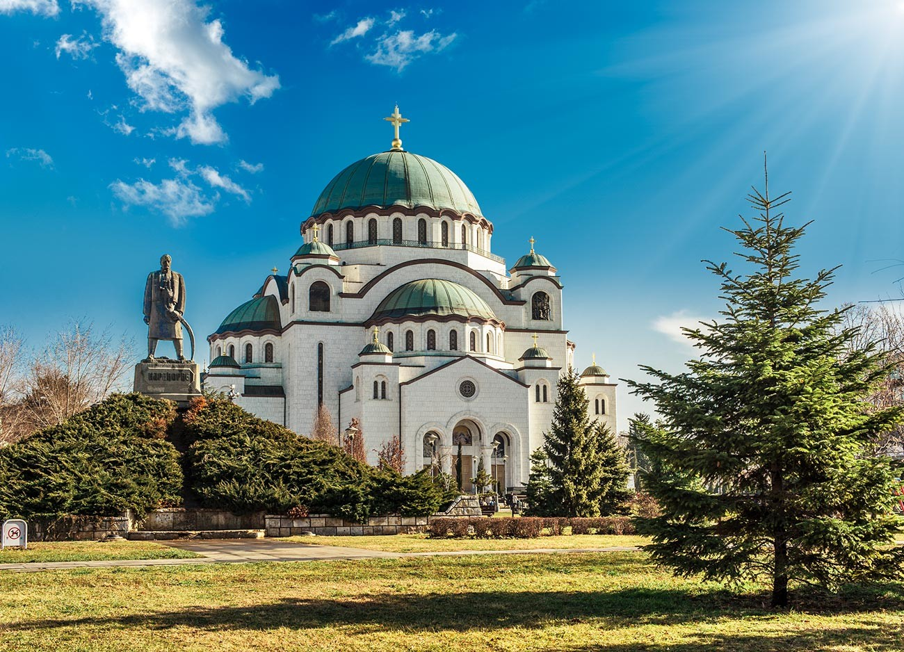 Belgrad, the capital of Serbia