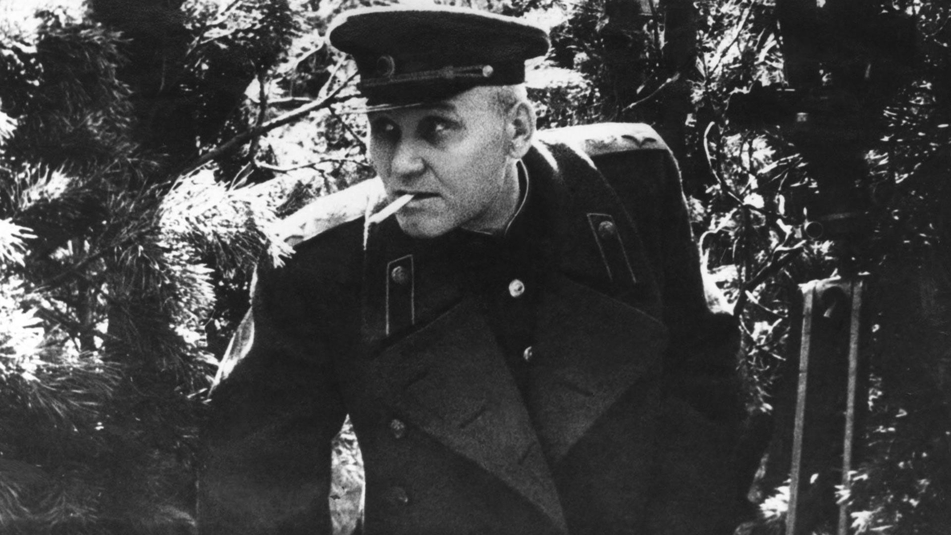 Marschall der Sowjetunion I.S. Konew.