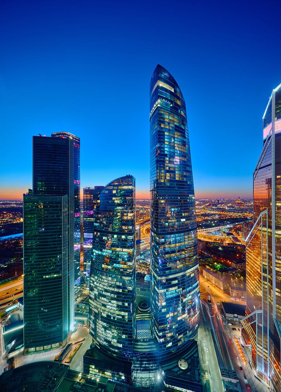 モスクワ・シティのフェデレーション・タワー