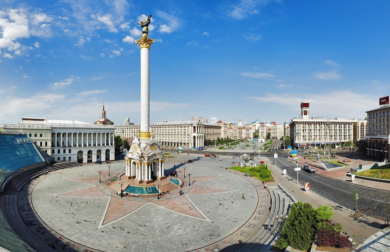 Kijev, glavno mesto Ukrajine