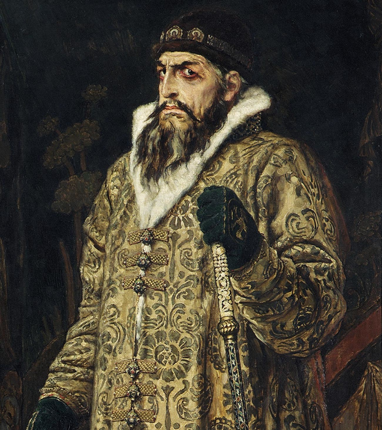 Ivan IV the Terrible by Viktor Vasnetsov, 1897