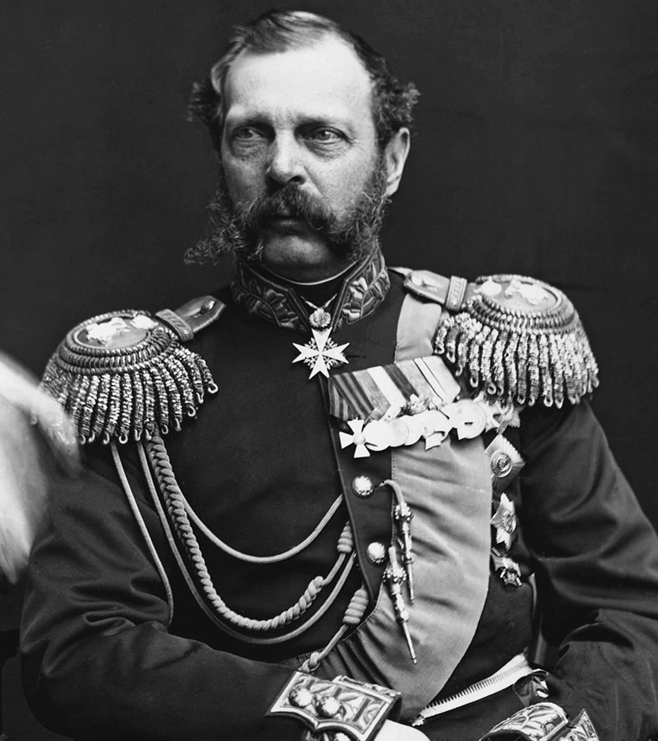 Alexander II, official photo