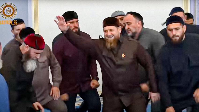 Pemimpin Republik Chehcnya Ramzan Kadyrov