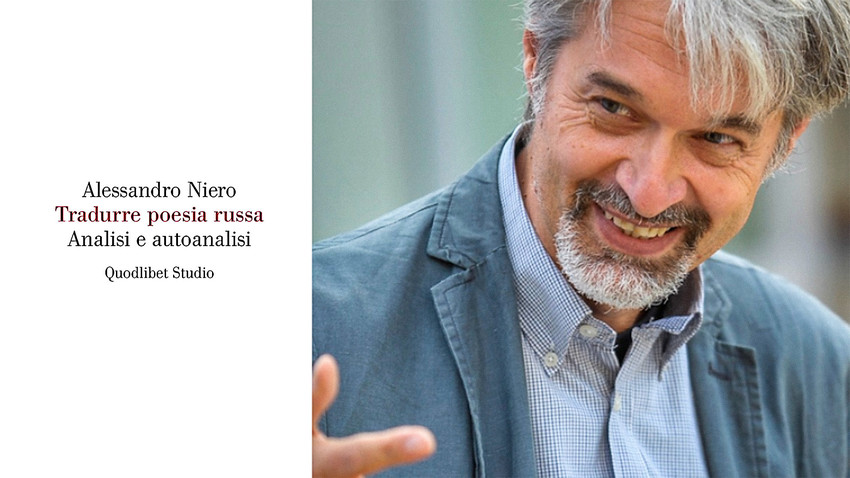 La copertina del libro e il suo autore, il professor Alessandro Niero