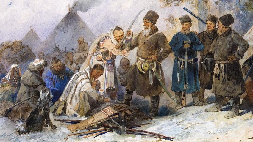 Rusko podjarmljenje ljudstev Daljnega vzhoda