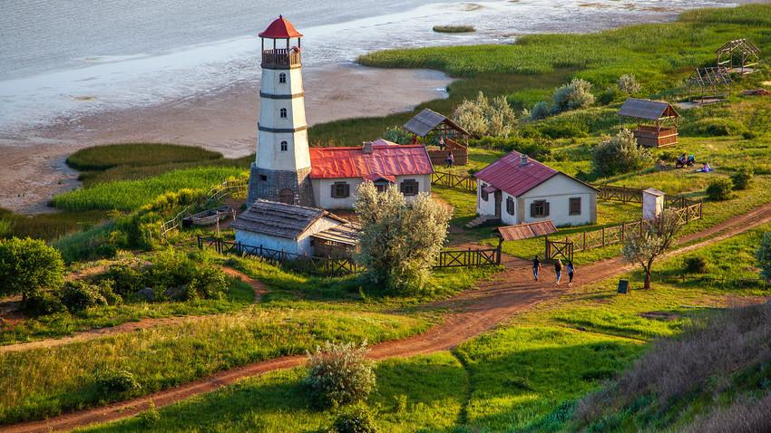 Leuchtturm in der Region Rostow.
