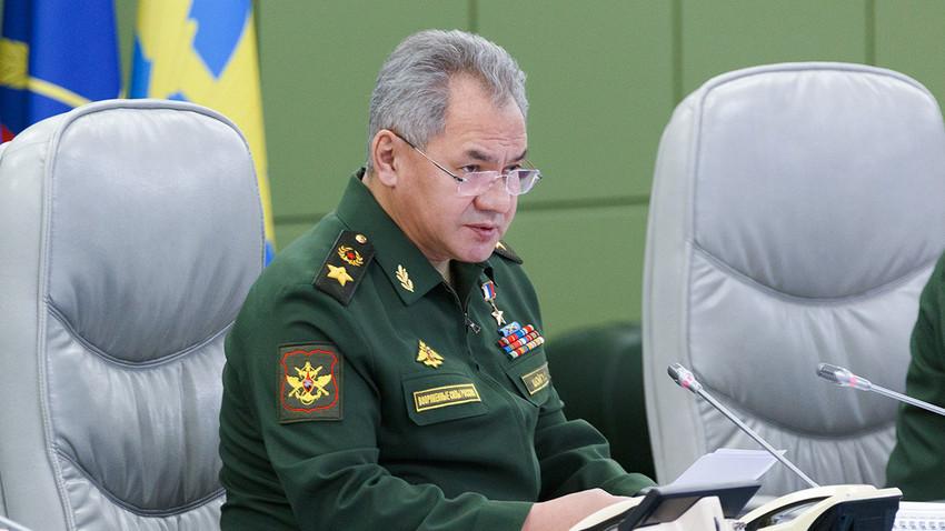 Menteri Pertahanan Rusia Sergei Shoigu