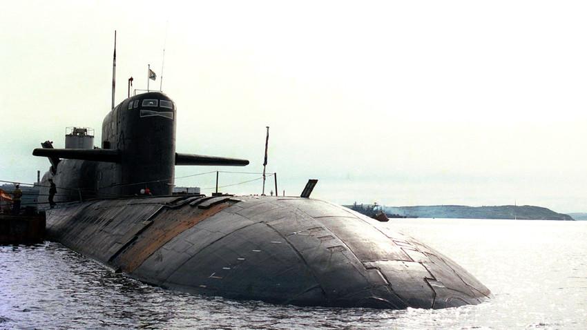 """Подводница """"Новомосковск"""", 1 юли 1998г."""