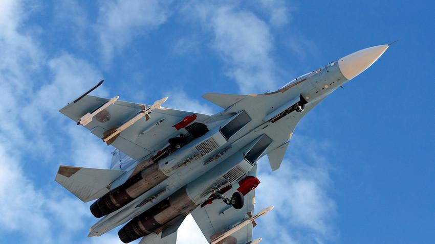 """""""Сухой"""" Су-30СМ"""
