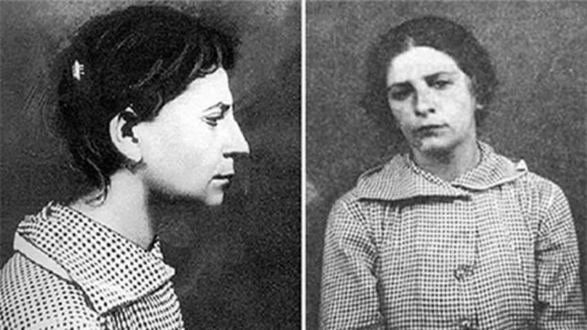 Según la versión oficial la persona que atentó contra el líder de la revolución el 30 de agosto de 1918 fue la resentida y fanática eserista Fanni Yefimovna Kaplán.