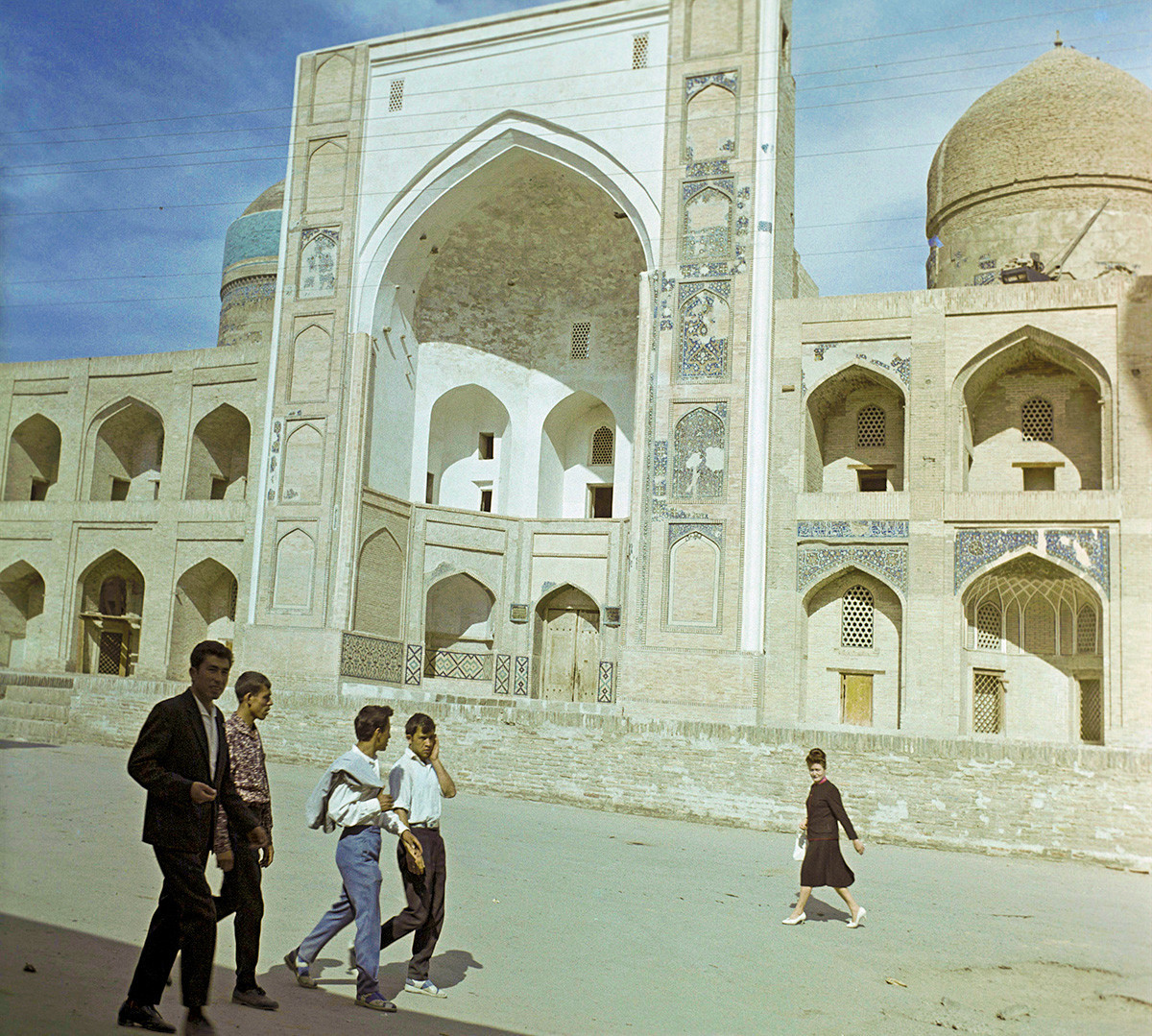 Mir-i-Arab Madrasa,  em Bucara