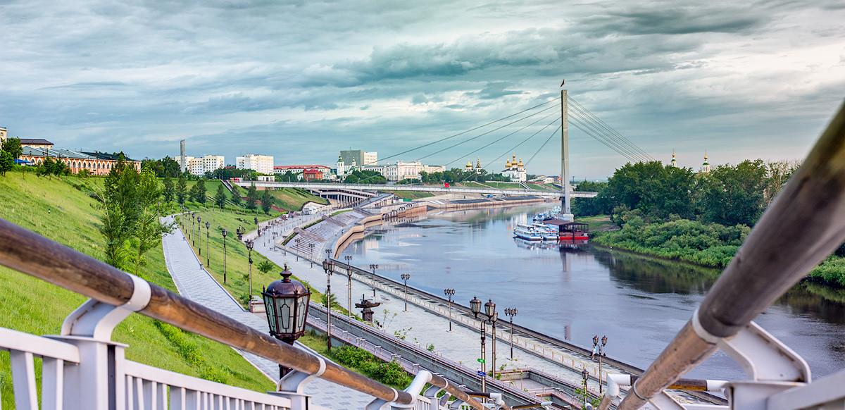 The Tyumen embankment