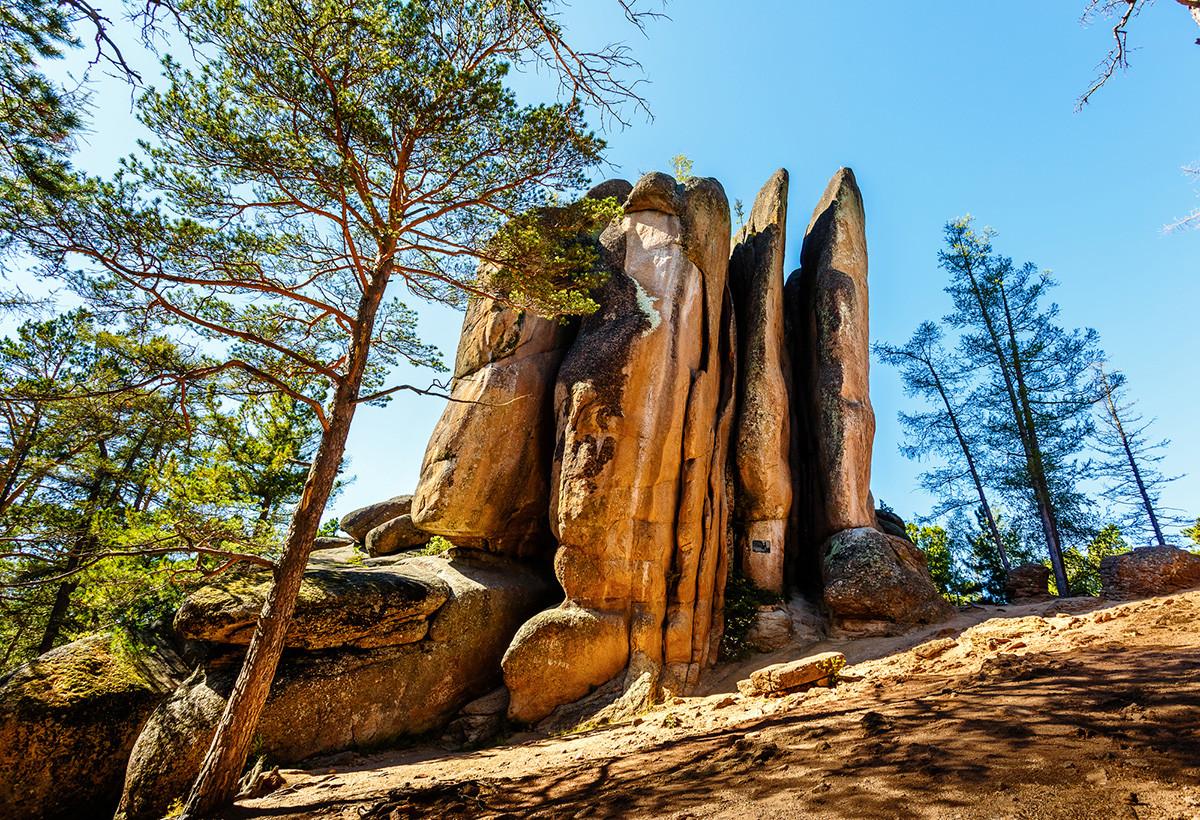 The Krasnoyarsk Pillars