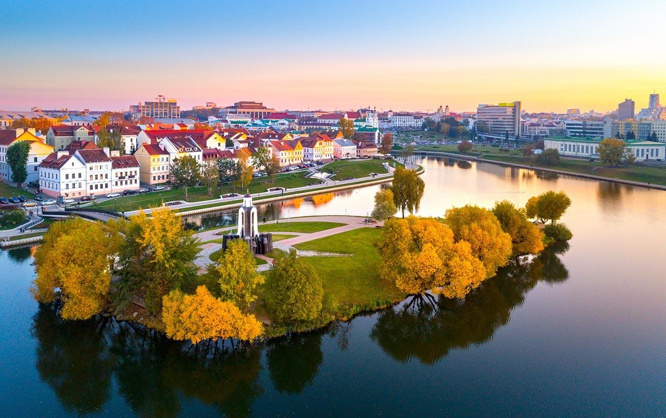 Minsk, ibu kota Belarus