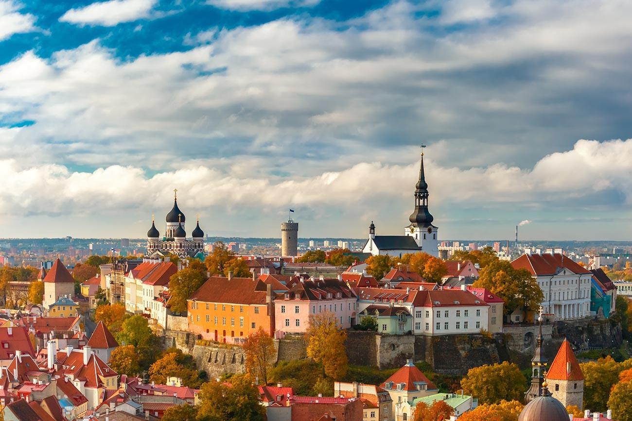 Tallinn, ibu kota Estonia