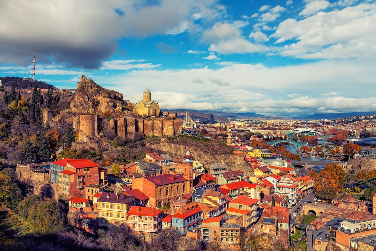 Tbilisi, ibu kota Georgia