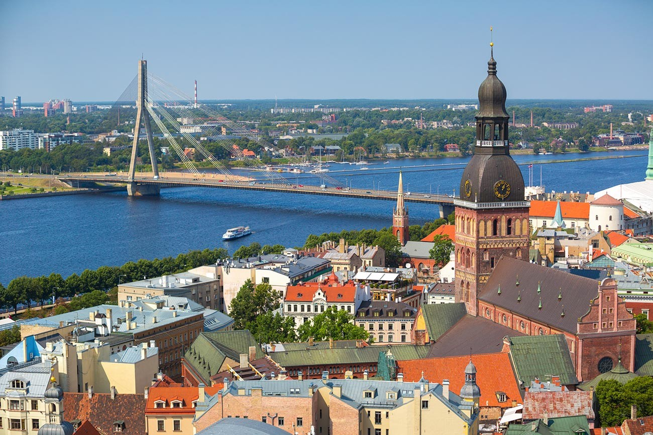 Riga, ibu kota Latvia