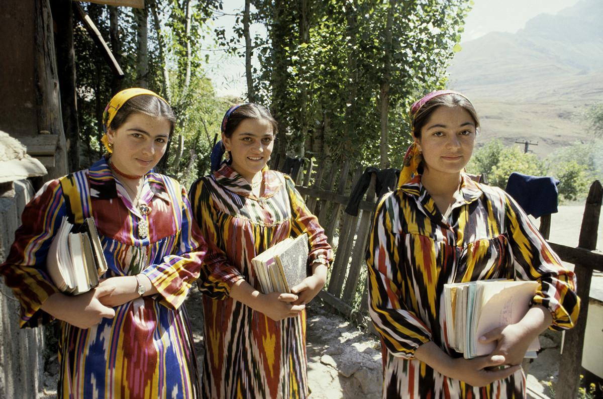 Tadschikische SSR. Bewohner des Dorfes Ziddi (Ziddy).
