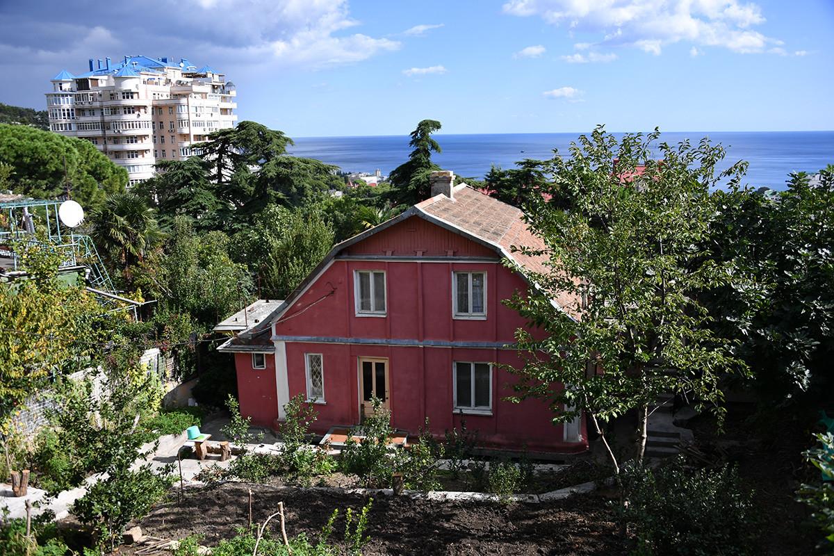 Rumah pribadi di Yalta.
