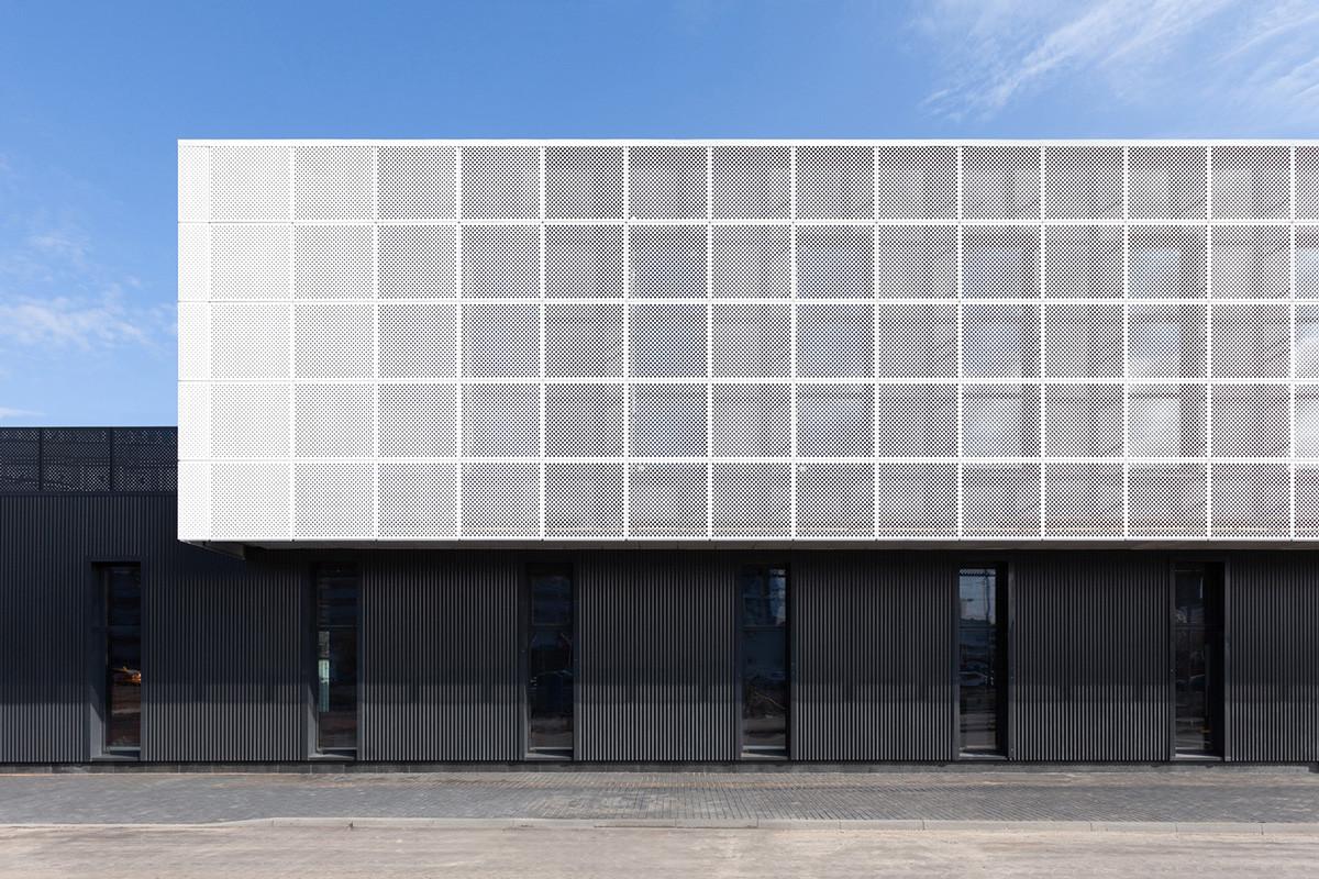 Centre commercial et de bureaux