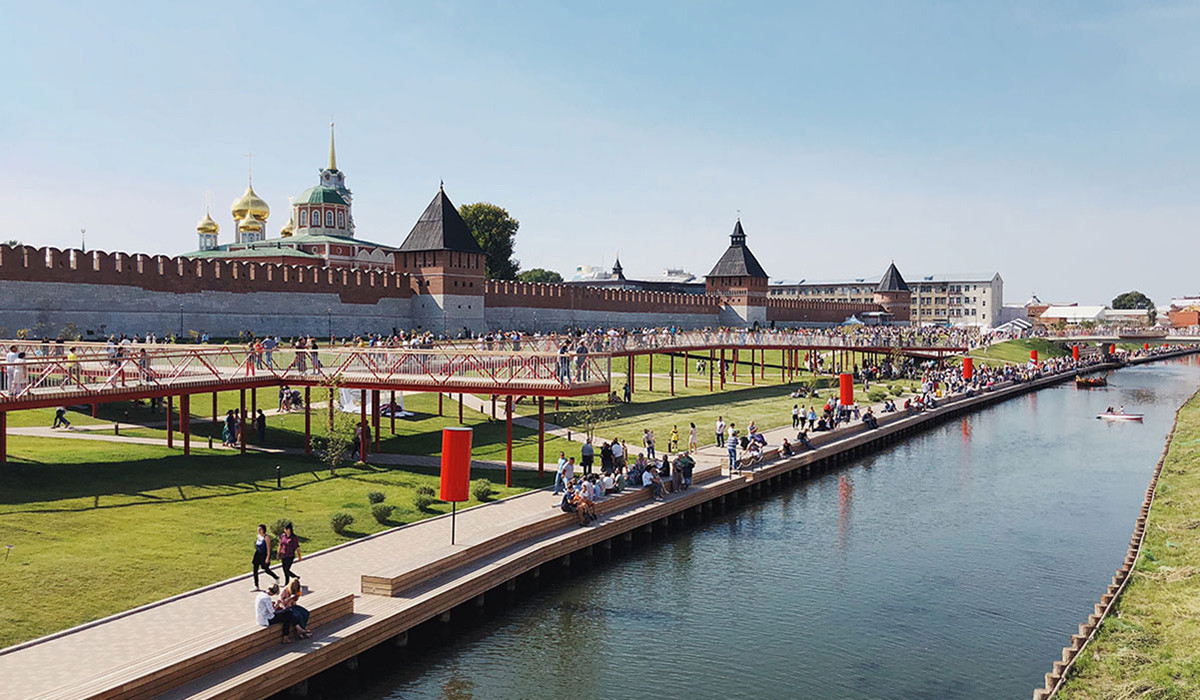 Quais du Kremlin de Toula