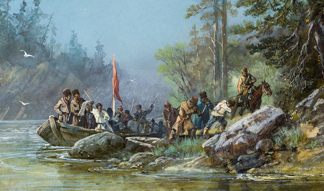 """""""Сибирски Козаци истражују нове земље"""""""