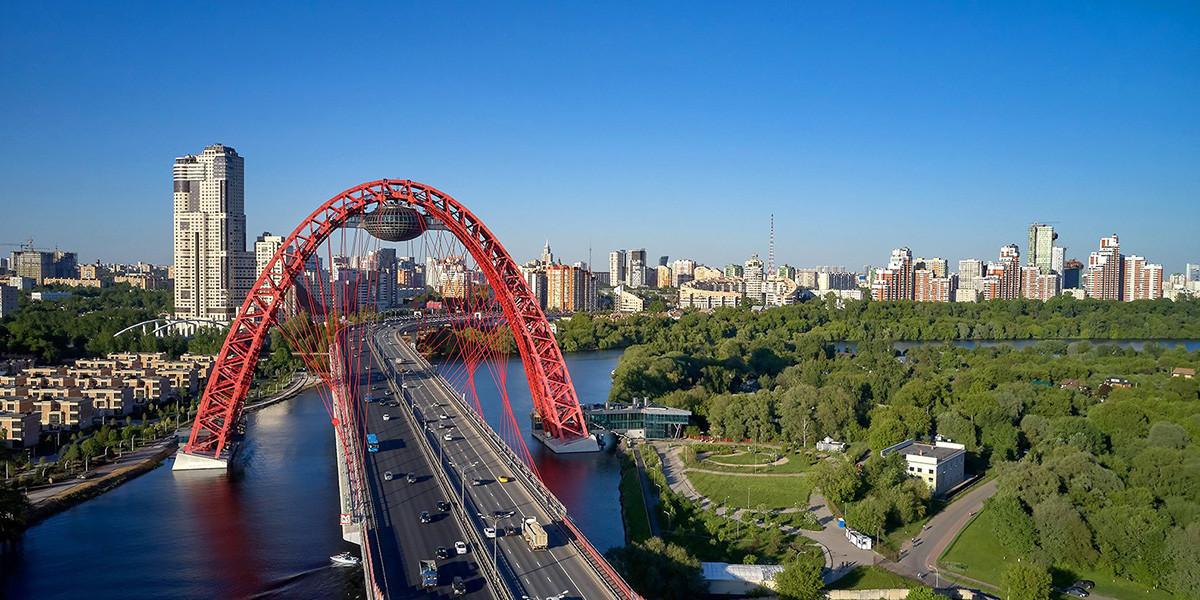 Živopisni most.