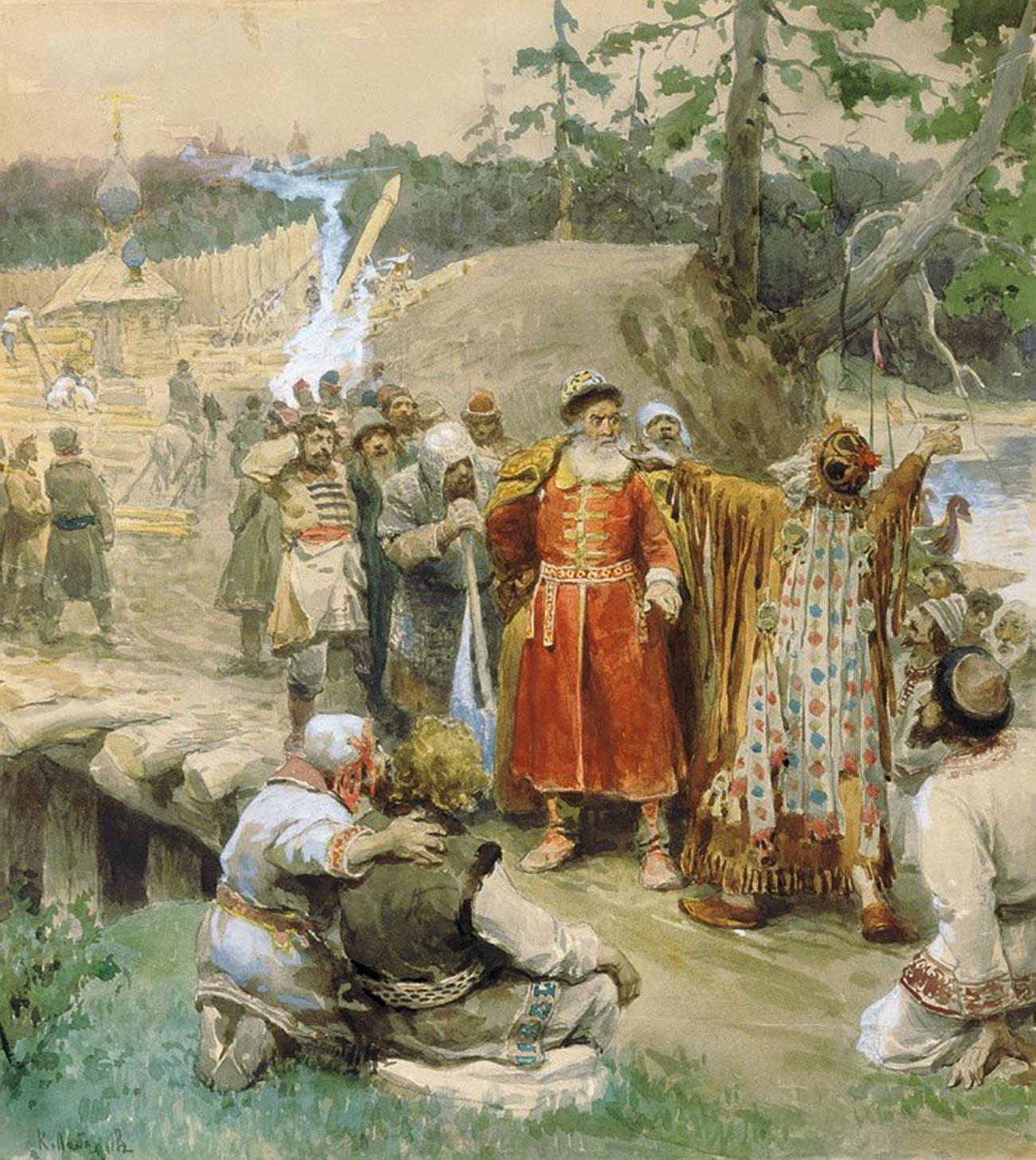 Conquista de novas terras pelos russos.