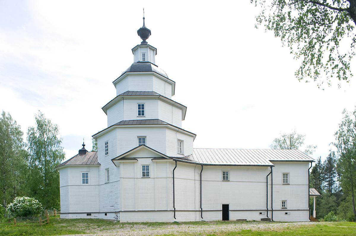 Église du prophète Élie. Vue nord