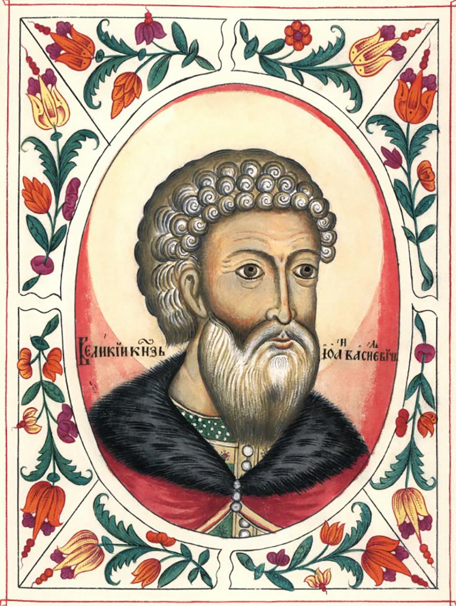 Великият московски княз Иван III. Портрет от