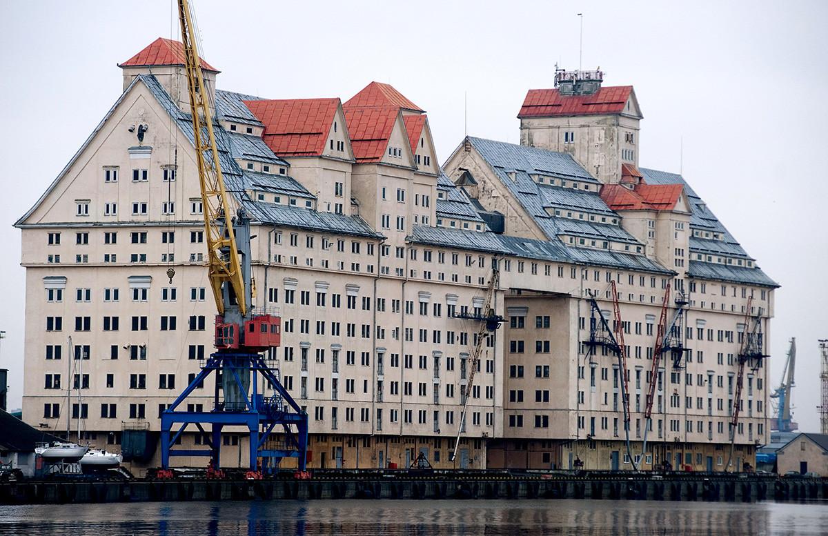 L'elevatore per il grano di Kaliningrad