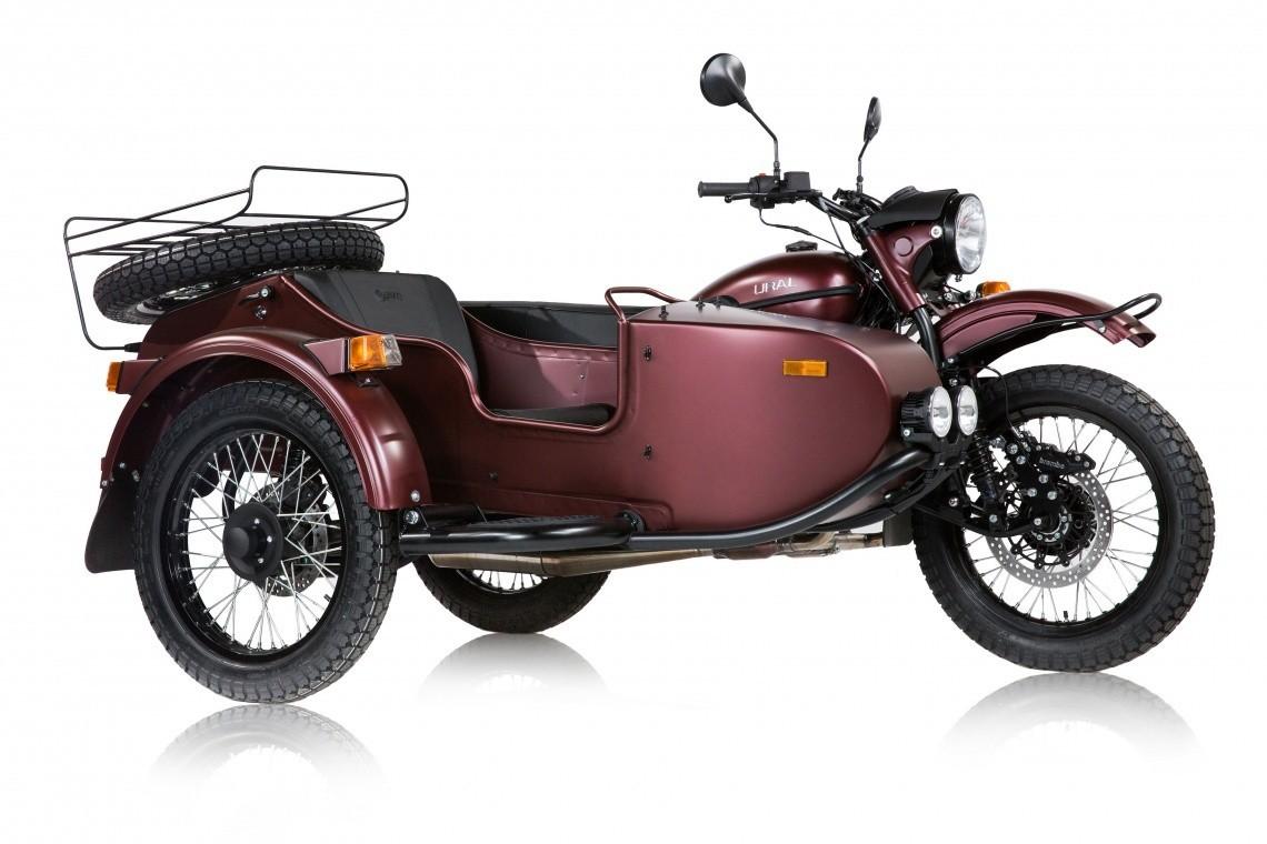 Sepeda motor Ural 'GEAR UP' 2021.