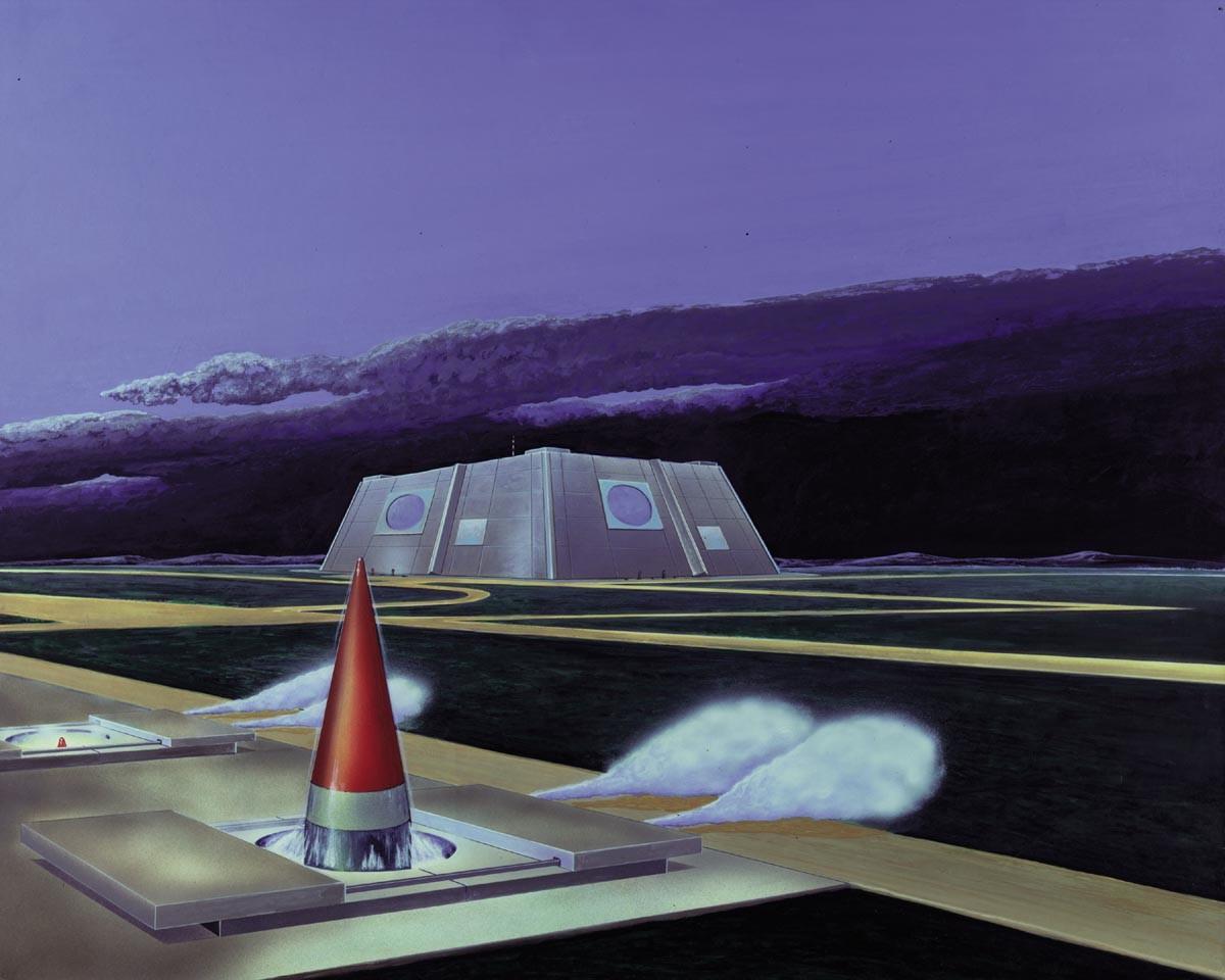 Skica protibalističnega raketnega obrambnega sistema