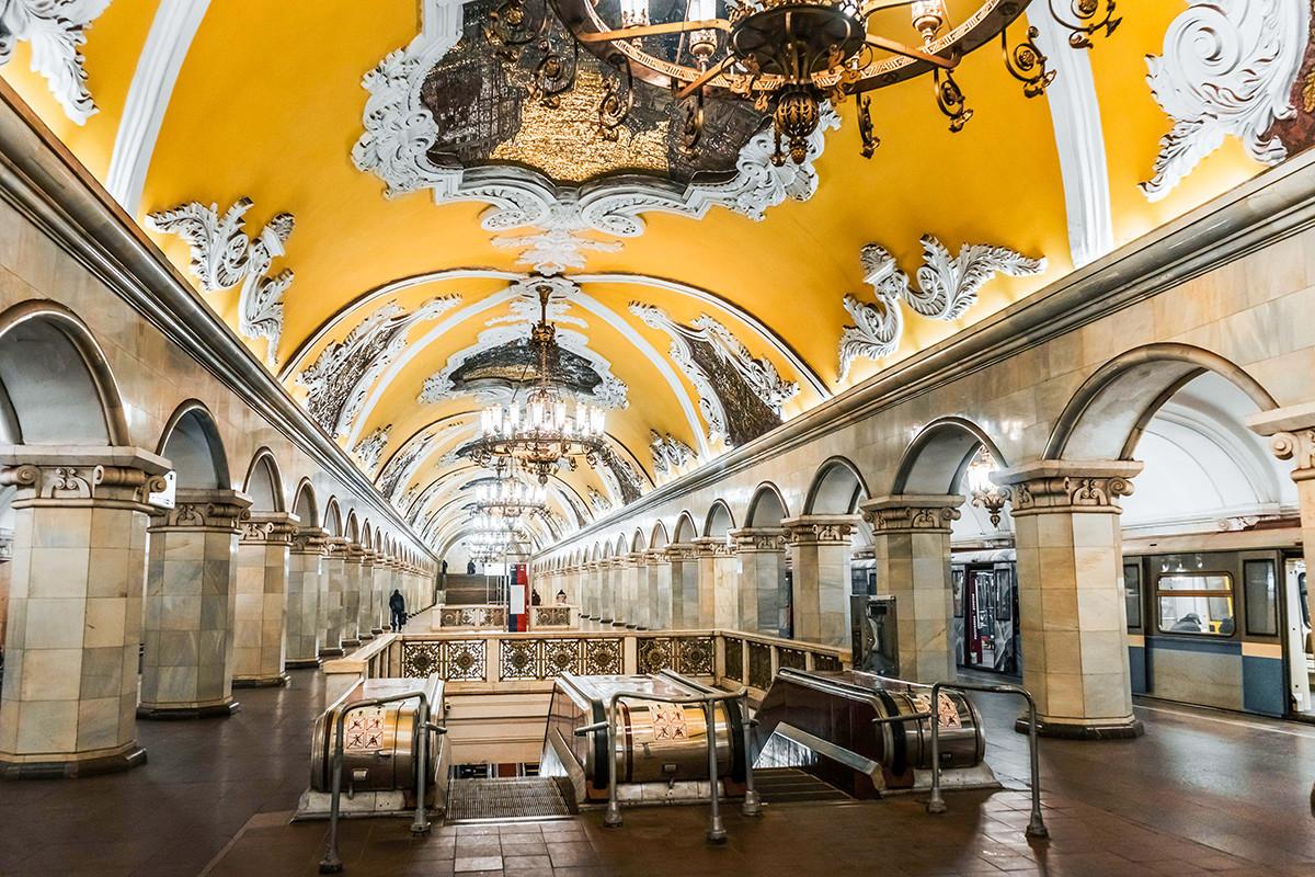 モスクワ地下鉄コムソモーリスカヤ駅