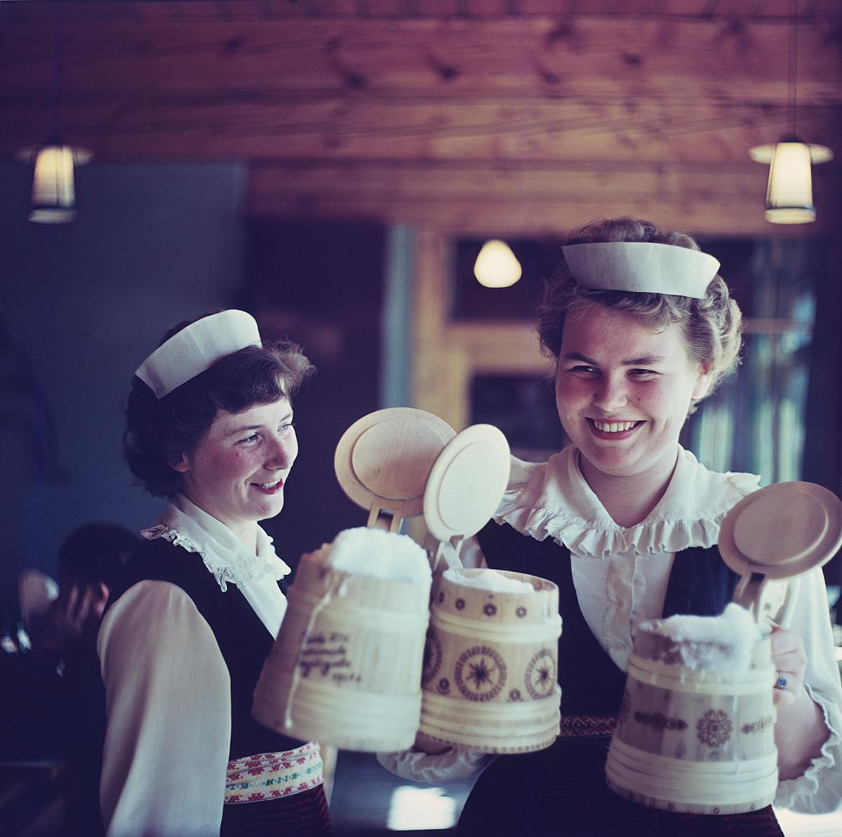 エストニア首都タリンにあった飲み屋にて