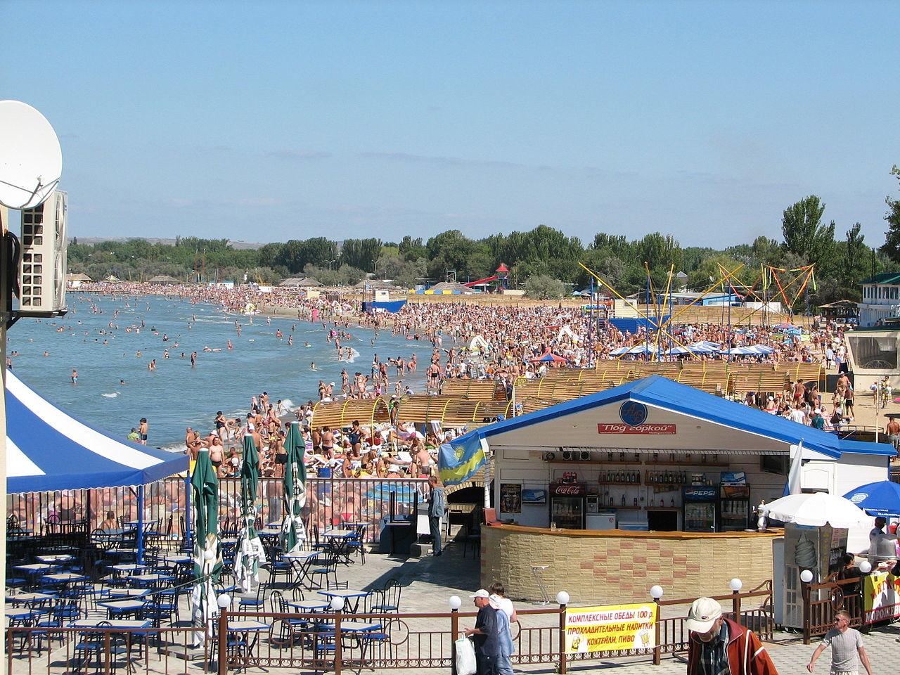 Plaža v Anapi