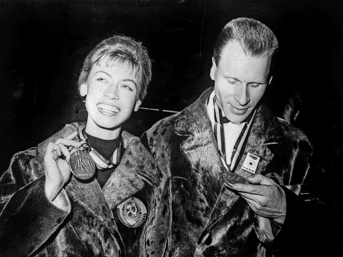 リュドミラ・ベロウソワとオレグ・プロトポポフ