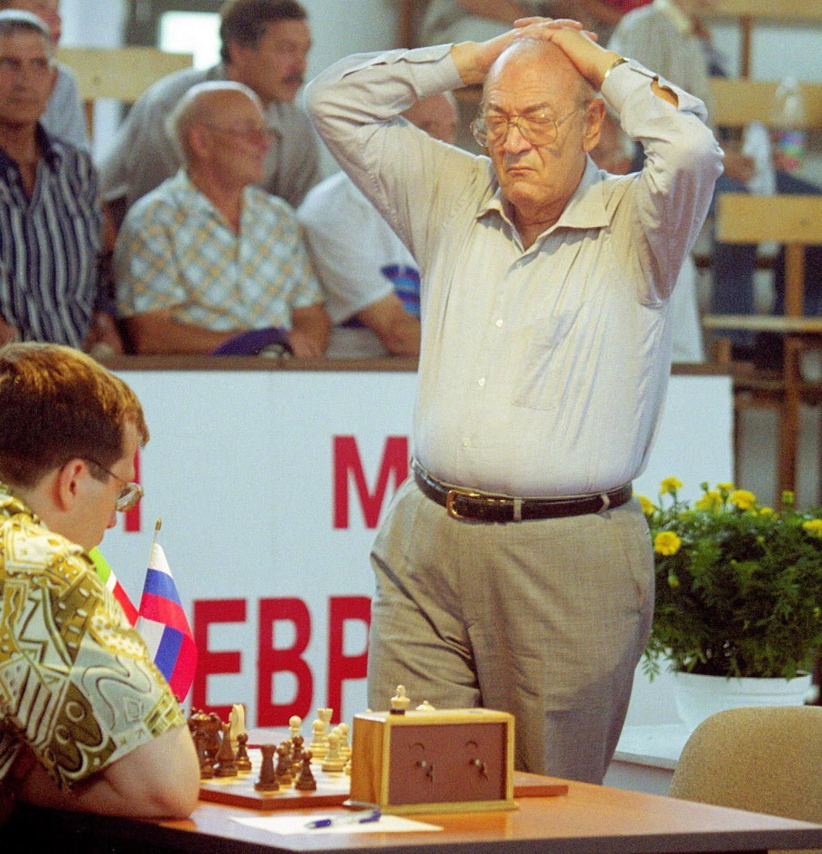 Вице-чемпион мира Виктор Корчной - участник международного шахматного матча в Казани.