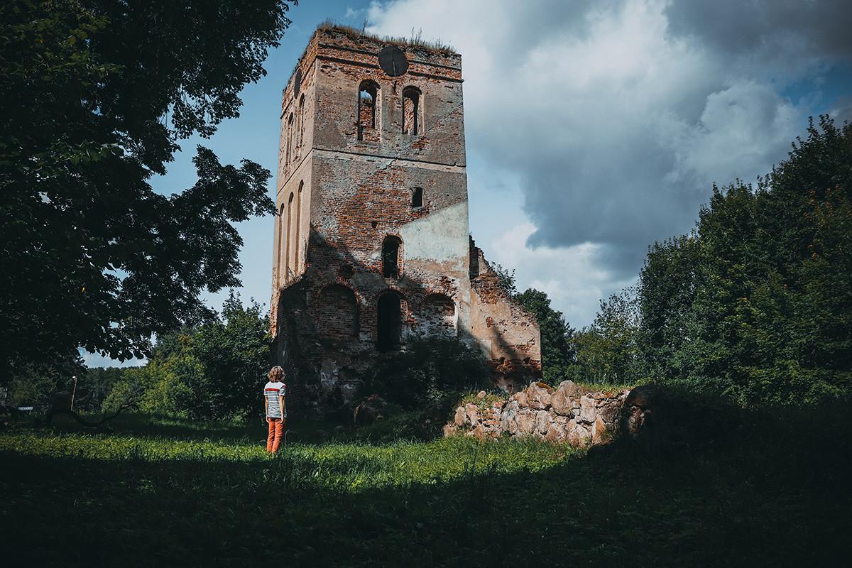 Nordenburg church in Krylovo