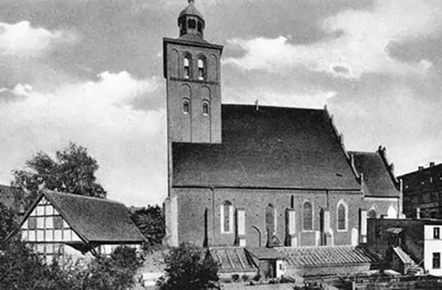La chiesa di S.Jacob a Velau